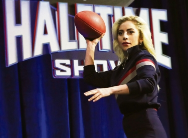 Lady Gagas Auftritt beim 51. Superbowl in Houston