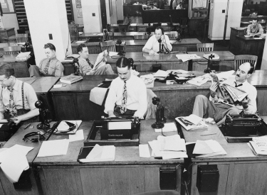 Newsroom New york Times 1942